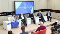 """Видео: выступление Ивантера В.В. на пресс-конференции """"Россия в зеркале мировой экономики: стоит ли ждать кризиса?"""""""