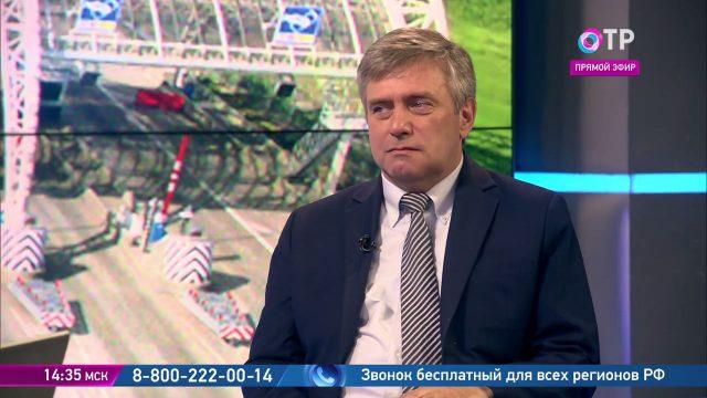 """ТВ: ОТР – Янков К.В.: """"Почему на строительстве дорог легко мухлевать? Никто не проверяет, сколько слоёв щебенки уложено"""""""