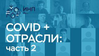 """Видео: """"Влияние COVID-19 на отрасли экономики. Сессия 2"""""""