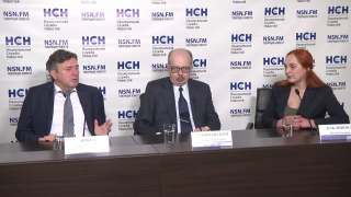 Видео: Янков К.В. на пресс-конференции ИА Национальная Служба Новостей